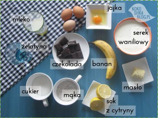 Pychota! Sernik czekoladowo-bananowy