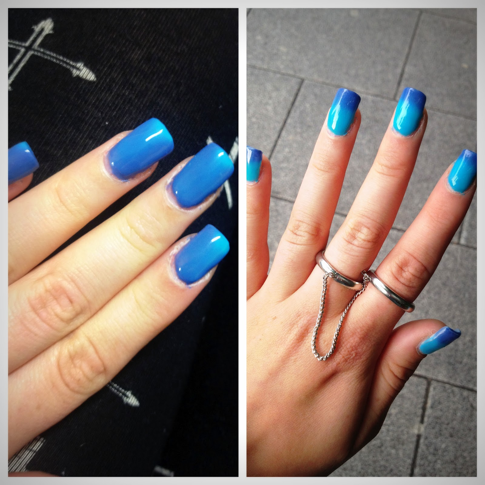 Lipstick Gossip by: Check out my magic nails! They change colour!!!!