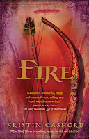 book cover of Fire by Kristin Cashore published by Firebird Penguin