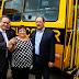 Prefeituras recebem 10 micro-ônibus para o transporte escolar
