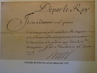 """Lettre de cachet (1703)"" by Tangopaso - Own work. Licensed under Public Domain via Wikimedia Commons - http://commons.wikimedia.org/wiki/File:Lettre_de_cachet_(1703).jpg#/media/File:Lettre_de_cachet_(1703).jpg"