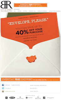 Click to view this Feb. 25, 2011 Banana Republic email full-sized