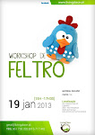 Workshop de Feltro - 19 Jan  2013