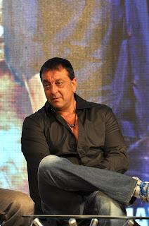 Sanjay Dutt at 'Department' movie press meet