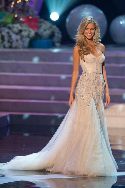 SASHES AND TIARAS.....Miss Universe 2012: Winner, Gowns | Nick Verreos