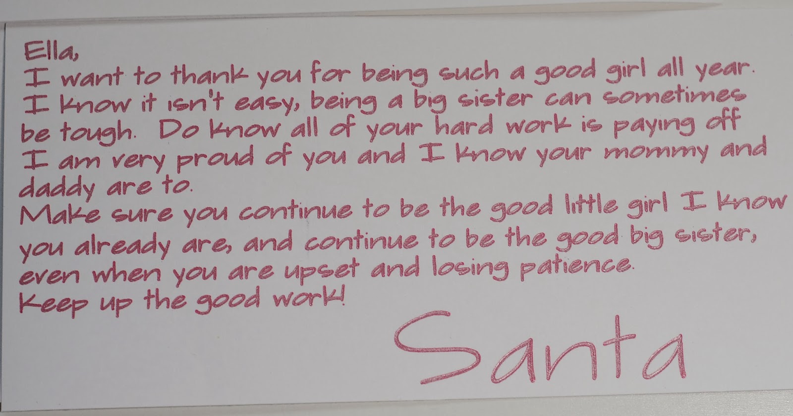 amy chomas letters from santa with chomas creations With letters written by santa