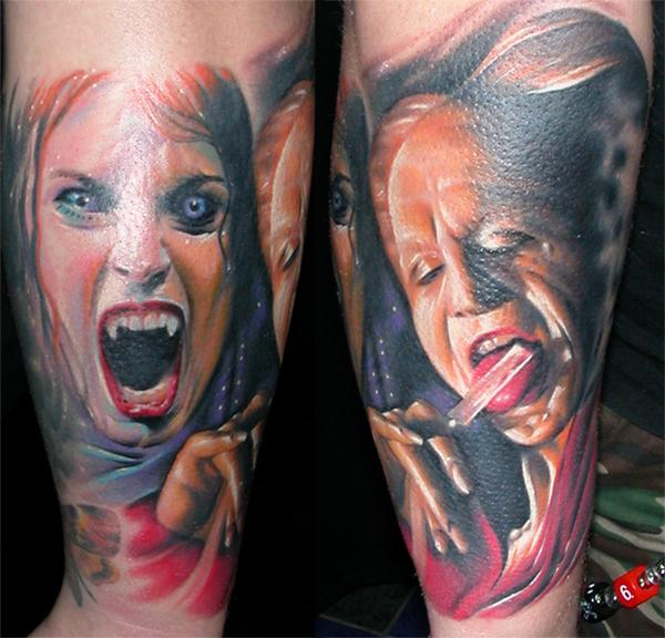 Horror Tattoos