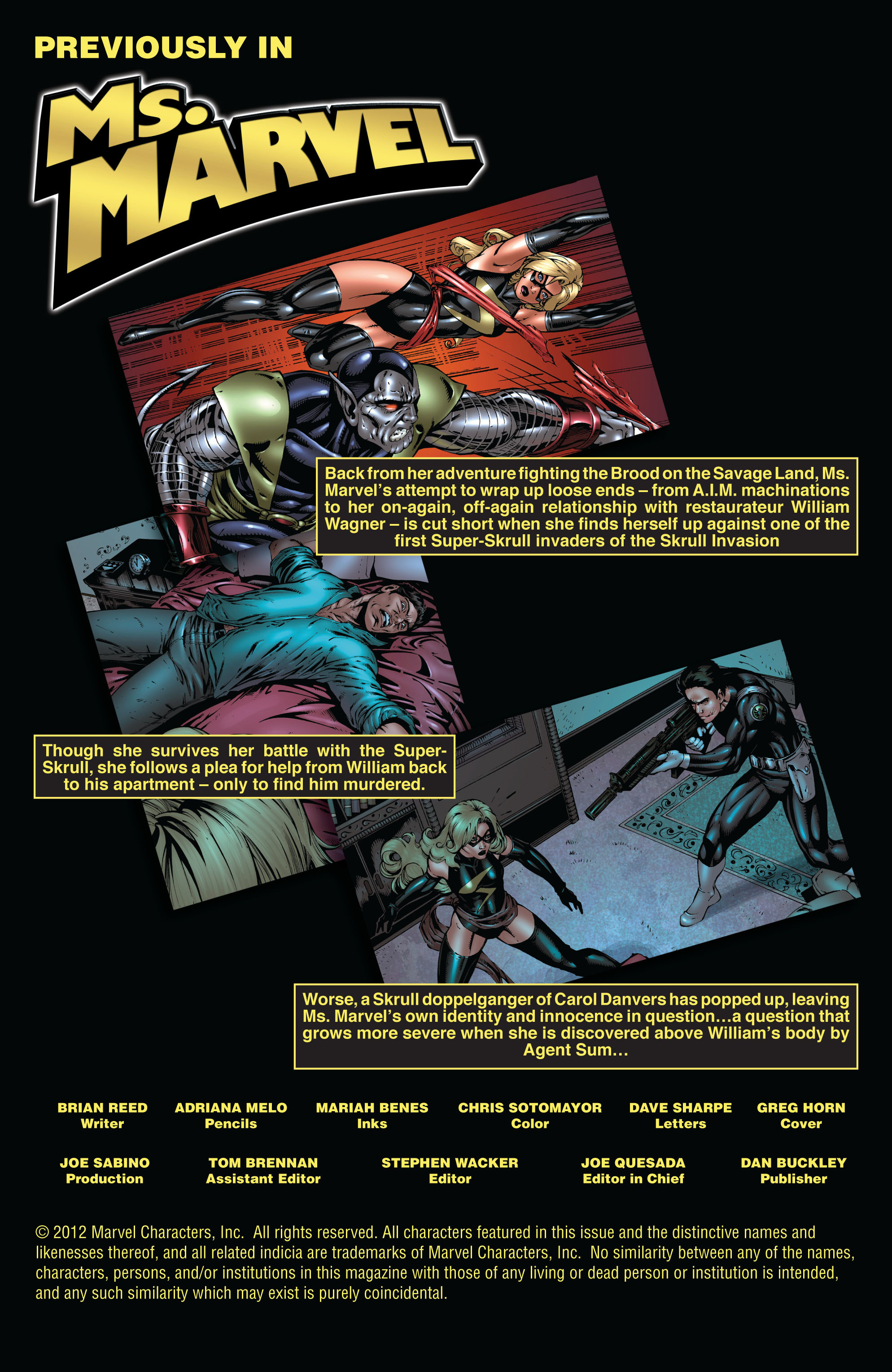 Read online Secret Invasion: The Infiltration comic -  Issue #9 - 2