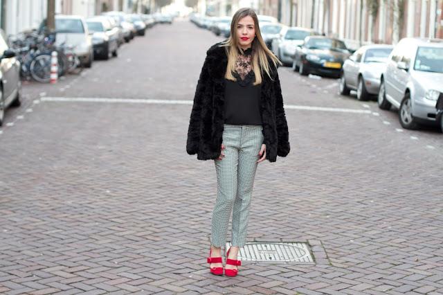 vintage vitoriana sapatos vermelhos inverno