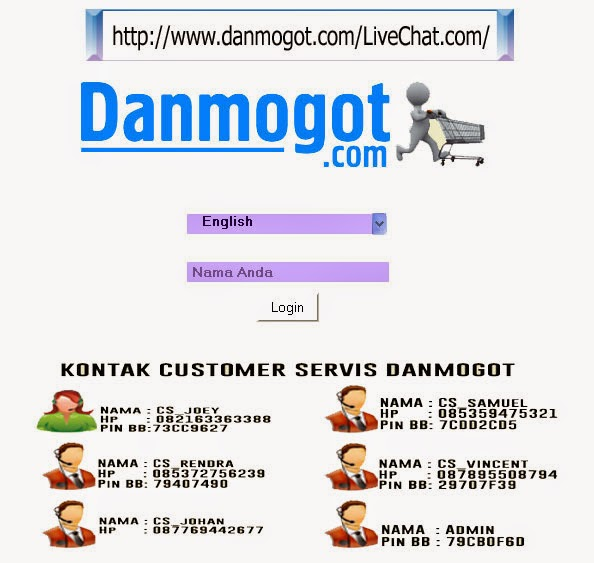 Live Chat Toko Online Murah Indonesia