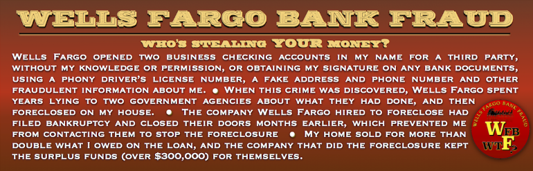 Wells Fargo Bank Fraud