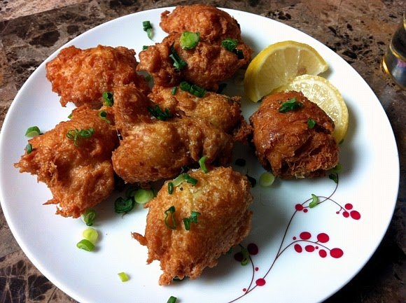 Asian Crab Fritters