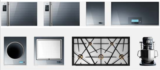 photos of different types of electric kitchen ranges and stoves