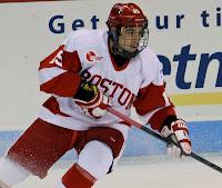 Hockey East: Nieto's OT Goal Caps Wild Game