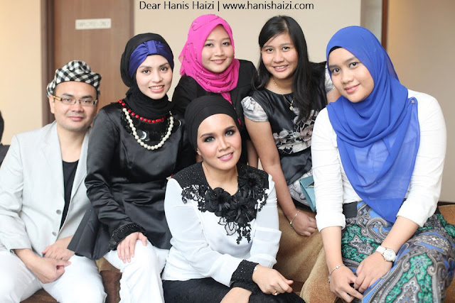 Coco Chanel private party hanis haizi with cdm adibah karimah group