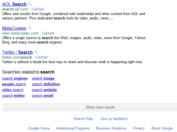 Google Tests Infinite Scrolling for Search Results Pages