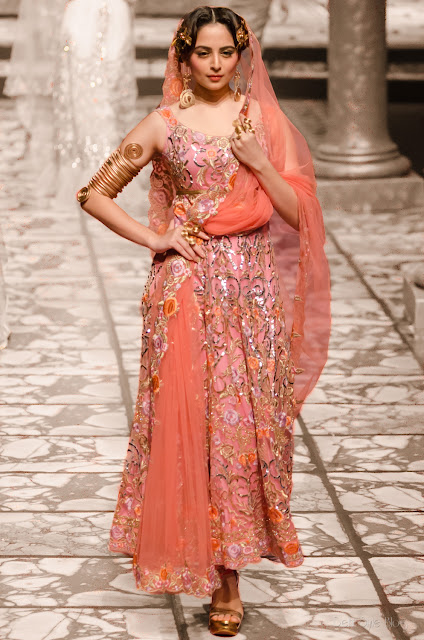 Suneet Varma India Bridal Fashion Week 2013 The Golden Bracelet Zoya Afroz