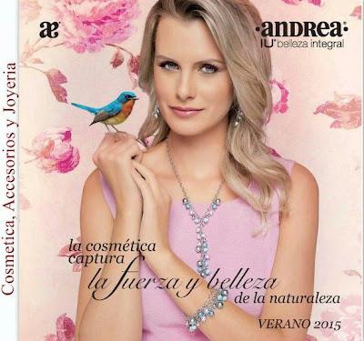 Andrea IU catalogo cosmeticos Verano 2015