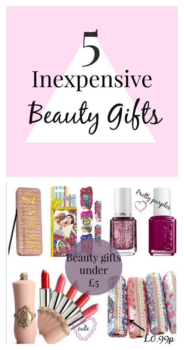 budget beauty gift ideas