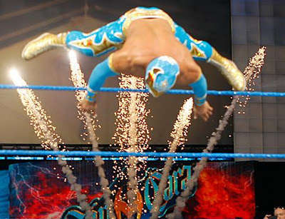 ���� Cara ���� ����� Sin Cara attacks Jack Swagger 6.JPG