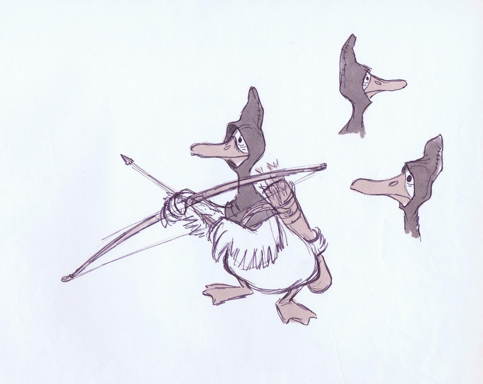 Arcieritalia Robin Hood Studio Dei Personaggi Walt Disney
