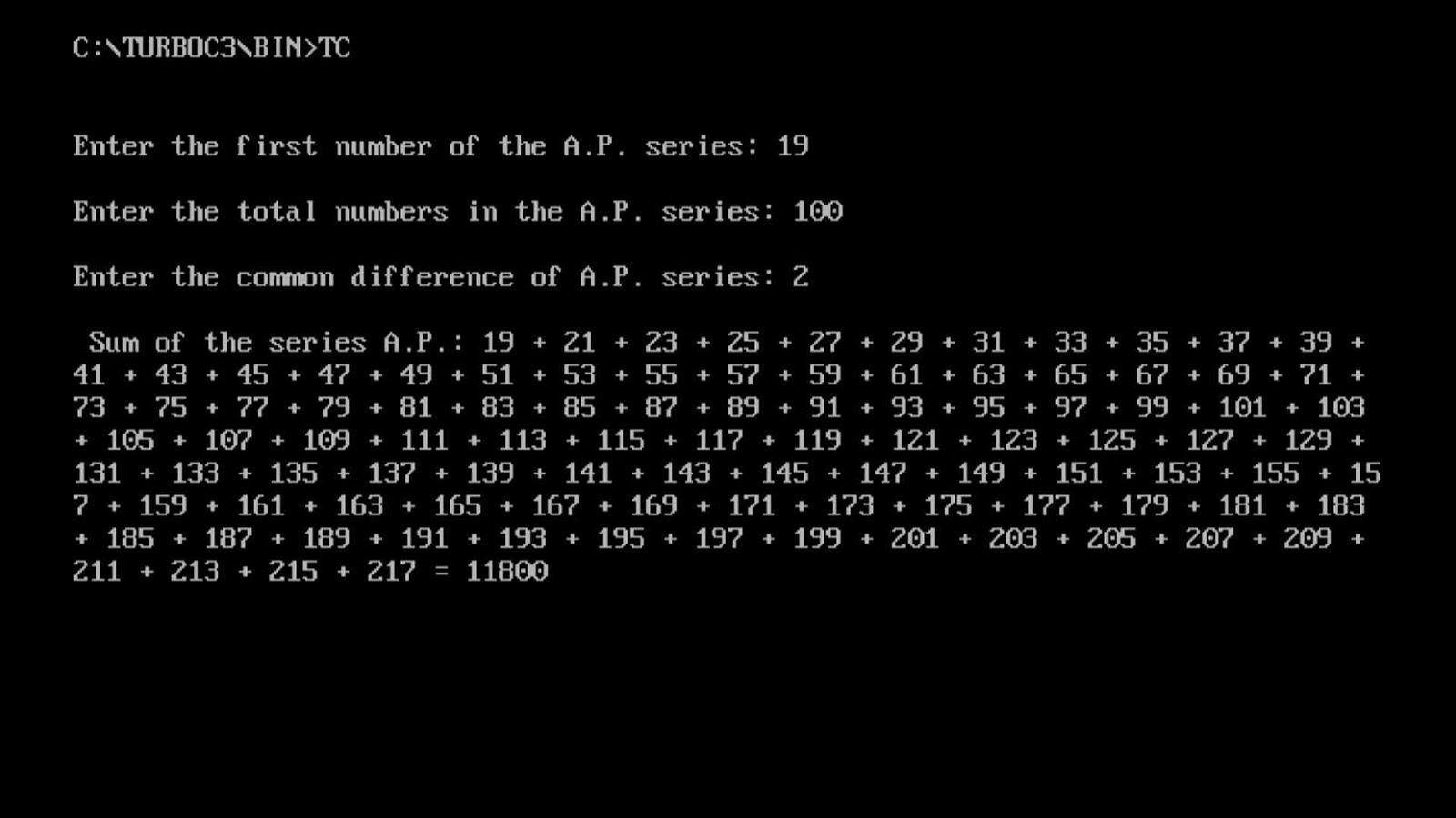 how to write programming code