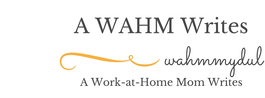 A WAHM Writes