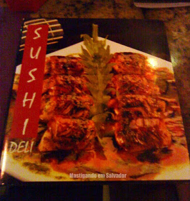 Sushi Deli: Cardápio