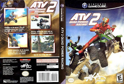 Jogo ATV Quad Power Racing 2 GC DVD Capa