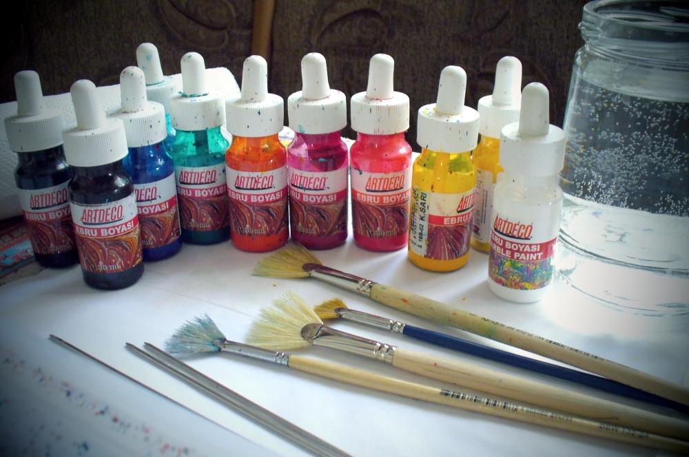 Как сделать краску для эбру 799