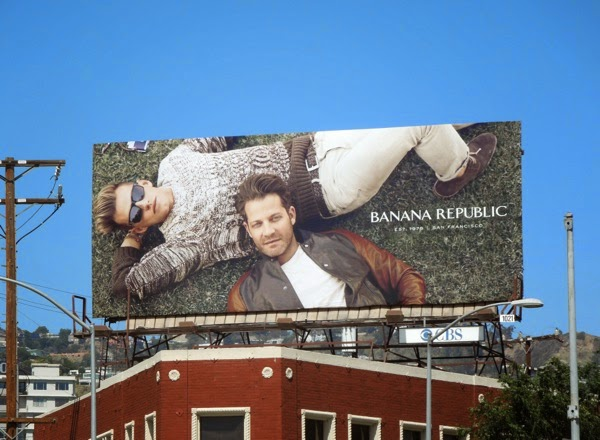 Banana Republic True Outfitters Nate Berkus Jeremiah Brent billboard