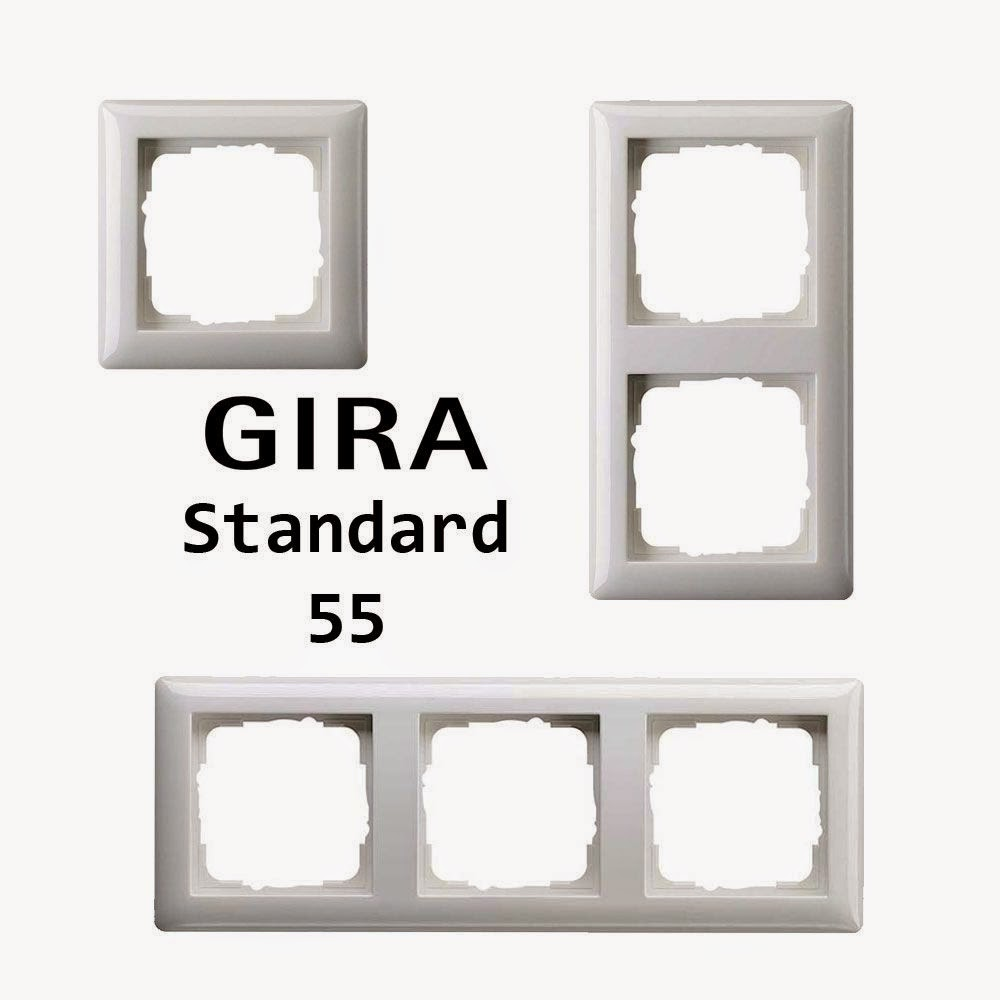 gira outlet power switch frame gira. Black Bedroom Furniture Sets. Home Design Ideas