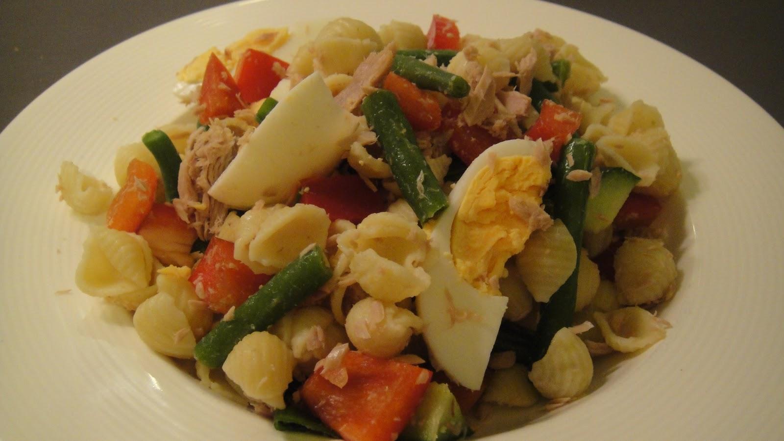 Mums in the kitchen tuna capsicum and pasta salad for Tuna fish pasta salad