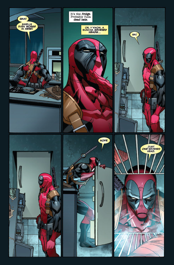 March Comes In Like And Goes Out Like >> Deadpool #44 Preview | Deadpool Bugle