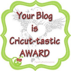 """Your Blog is Cricut-tastic"" Award"