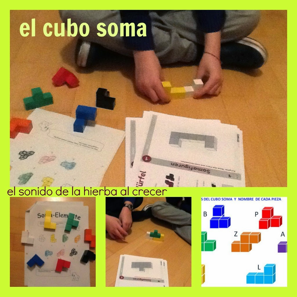 Rompecabezas: el cubo soma :El sonido de la hierba al crecer