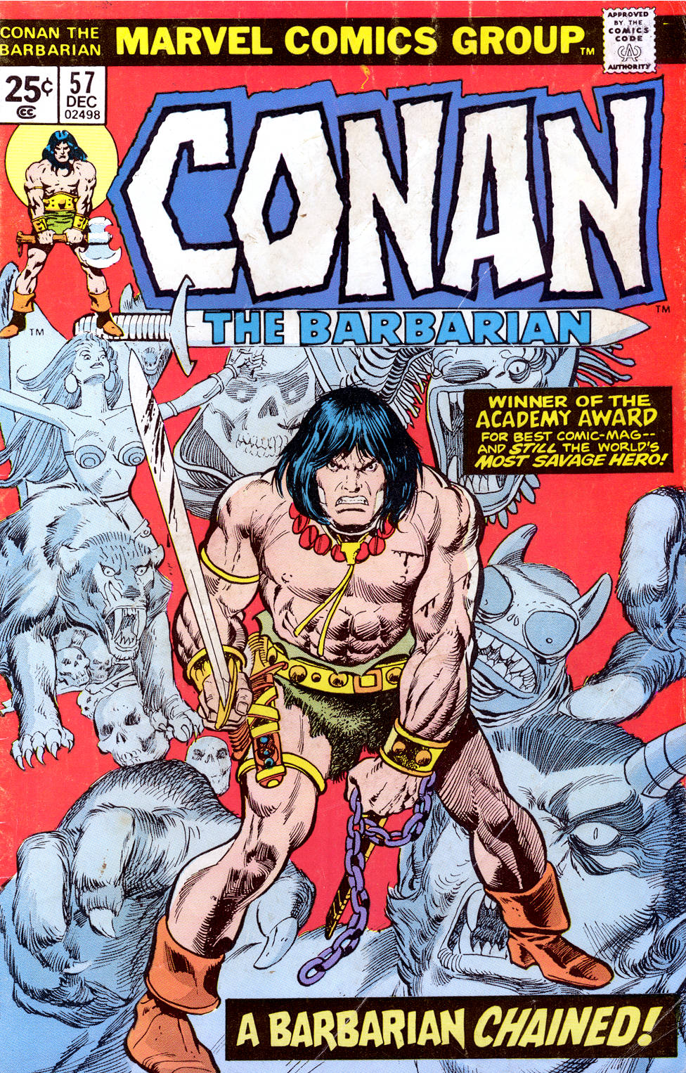 Conan the Barbarian (1970) Issue #57 #69 - English 1