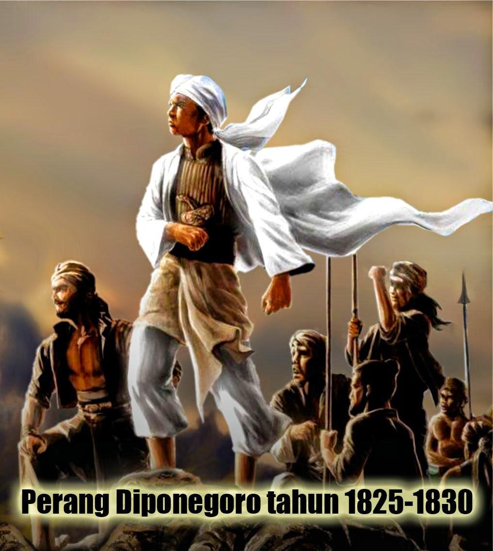 Perang Diponegoro terjadi tahun 1825-1830
