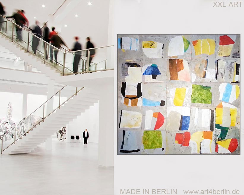 Ständig wechselnde Kunstausstellung