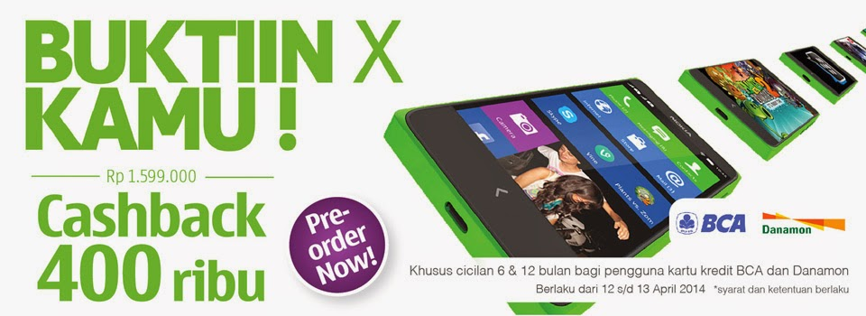 Promo Nokia X Android Murah