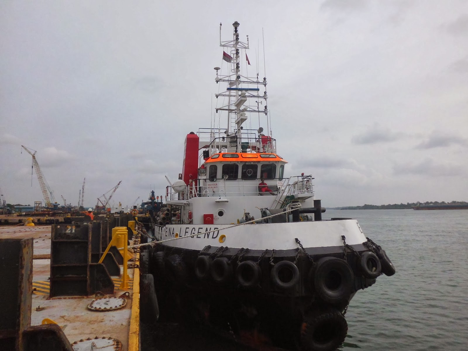 Bunker Survey Tug Boat ENA LEGEND