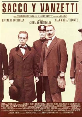 """Cine forum IZAR. Martes 17 de mayo a las 22h en el Entresuelo. """"Sacco y Vanzatti"""" de G. Montaldo."""