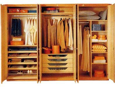 Dise o y decoraci n de la casa ideas sobre dise os del for Roperos para dormitorios modernos