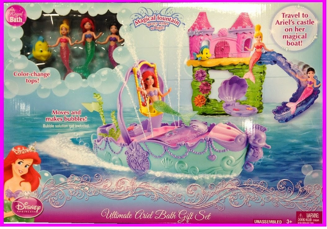 Ultimate Ariel Bath Set. Mermaids In The Media  A Blog On Mermaids In Movies  Music Videos