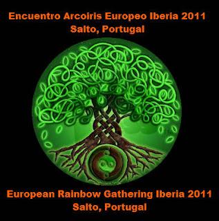 logo rainbow gathering iberia 2011