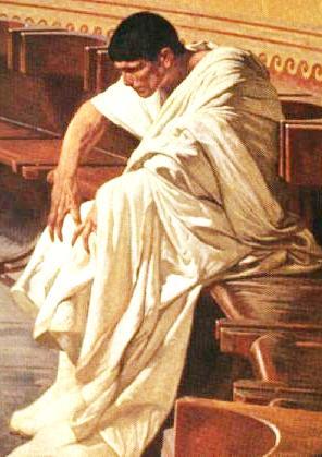Catiline in the senate