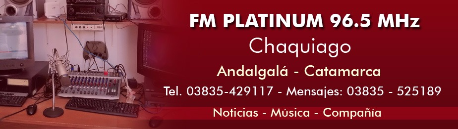 FM PLATINUM 96.5 MHz - ANDALGALA