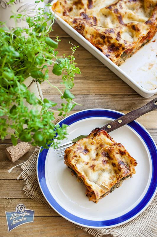 Lasagne ze szpinakiem przepis
