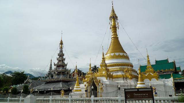 Mae Hong Son's Wat Jong Klang temple