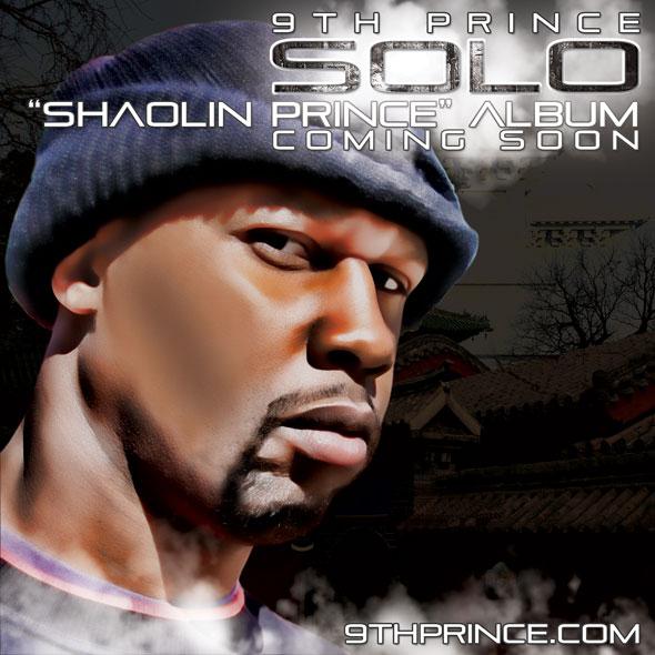 """9th Prince - Solo, """"Shaolin Prince"""" Album [2012]"""
